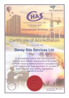 CHAS Accreditation Certificate