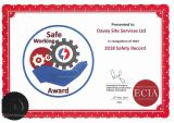 ECIA Safe Working Award 2018